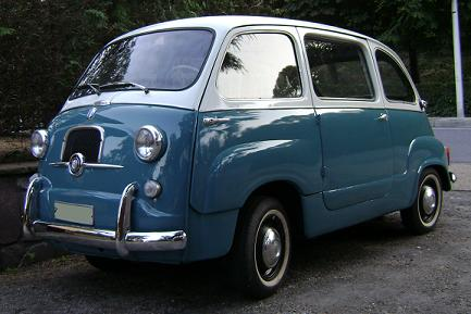 FIAT 600 Multipla. MotorMania.