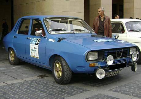 Renault 12 Gordini. Vista frontal