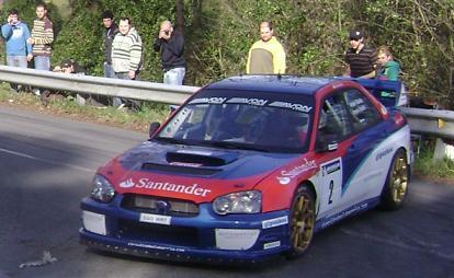 IV RallySprint de Hondarribia 2010. Ander Vilariño Subaru Impreza WRC