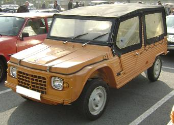 Citroën Mehari. Vista Frontal.
