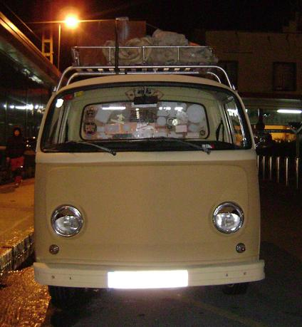 Volkswagen T2 Pick-up. Vista Frontal.
