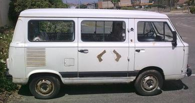 FIAT 900 E. Vista Lateral.