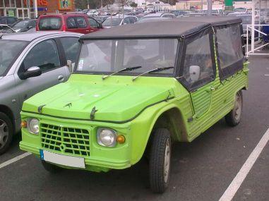 Citroën Mehari 2ª serie. Vista frontal.