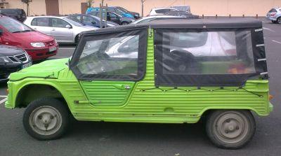 Citroën Mehari 2ª serie. Vista lateral.