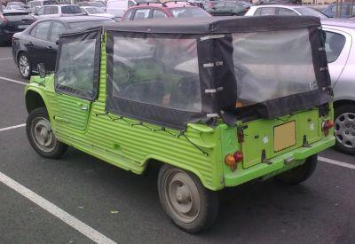 Citroën Mehari 2ª serie. Vista trasera..