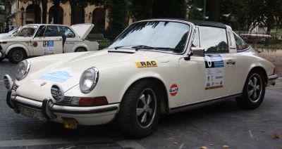 Porsche 911 Targa. XVI Rallye Vasco Navarro Histórico. Merial Ignacio Sunsundegui 2013.
