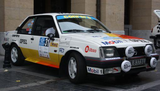 Opel Ascona. XVI Rallye Vasco Navarro Histórico. Merial Ignacio Sunsundegui 2013.