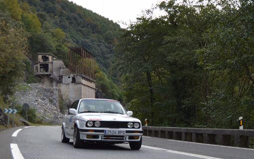 Txema Foronda. Rallye Vasco Navarro Histórico.