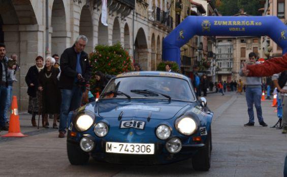 Alpine A110. Rallye Vasco Navarro histórico.