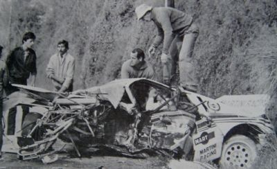 Accidente de Attilio Bettega. Tour de Corse de 1.982