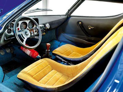 Interior Lancia Stratos Stradale HF.