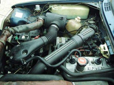 Motor Renault 5 Copa Alpine Turbo