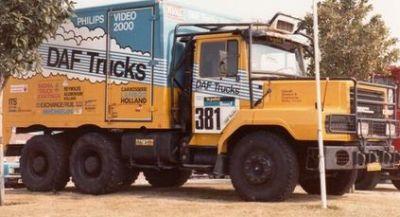 DAF NTT 2800 De Neus de 1982. Jan de Rooy