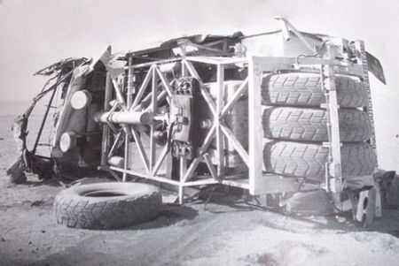 Accidente Turbo Twin X2, Dakar 1988