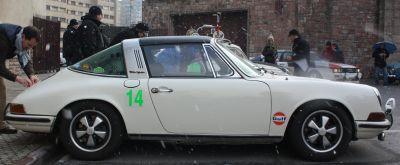 Porsche 911 Targa. Vista Lateral.