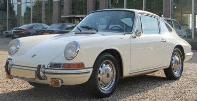 Porsche 912 Coupé. Vista Frontal. Tipo 902
