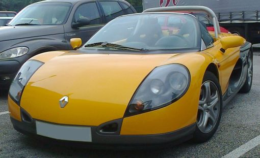 Renault Sport Spider. Vista frontal.