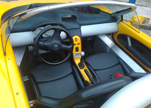 Interior Renault Sport Spider.