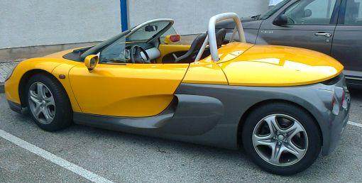 Renault Sport Spider. Vista Lateral