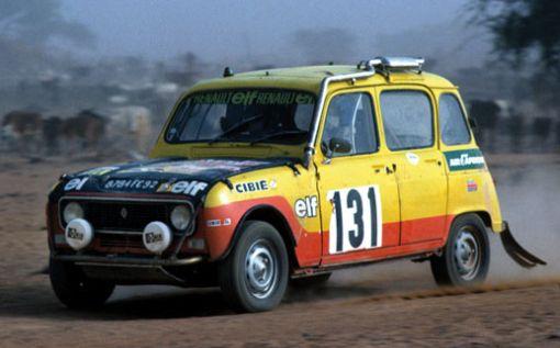 Renault 4 en el París-Dakar de 1.979