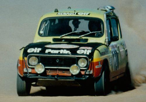 Renault 4 Sinpar. Hermanos Marreau. nº 120. Dakar 1980