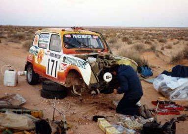 Renault 4 Sinpar. Antonie Granja. Dakar 1981
