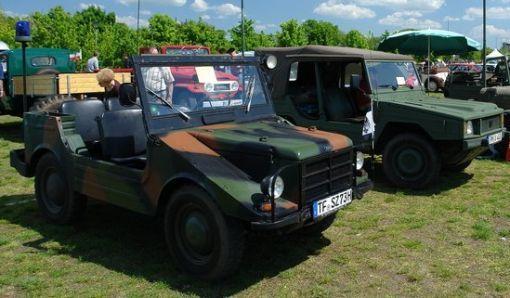 DKW Munga junto a VW Type 183 (Iltis)