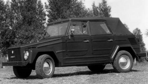 Volkswagen Tipo 181 basado en el VW Escarabajo