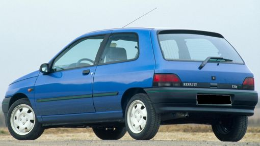 Renault Clio S. Vista Trasera.