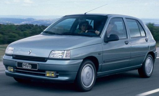 Renault Clio RT 1.7 1990. Vista Frontal.