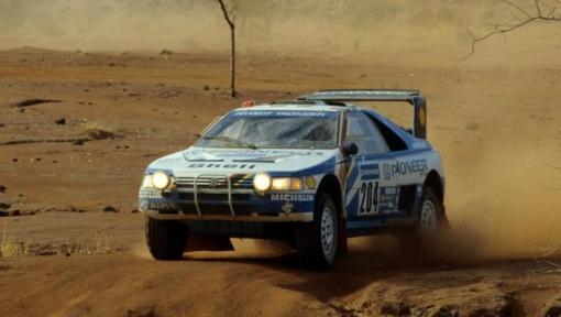 Peugeot 405 T16. Ari Vatanen. Dakar 1988