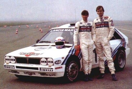 Henri Toivonen y Markku Alen. Lancia Delta S4.