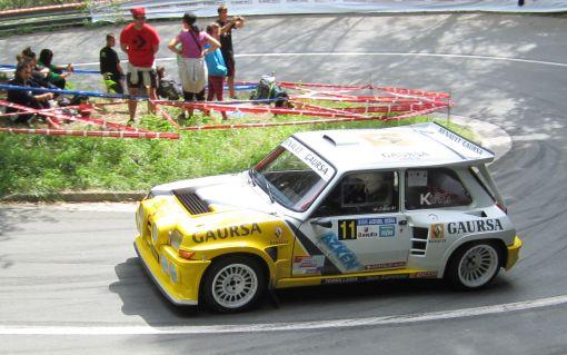 Lebeiti. Renault 5 Turbo Tour de Corse. Subida a Jaizkibel 2014