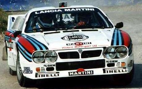 Lancia 037 Rally. Vista Frontal.