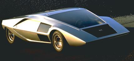 Lancia Stratos. Prototipo salón de Turín 1970.
