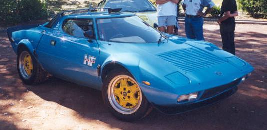 Lancia Stratos HF Stradale. Vista Frontal.