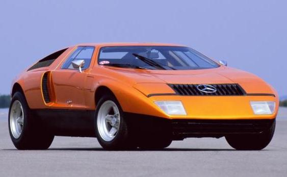 Mercedes C111 I. Vista frontal