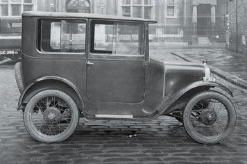 El Austin Seven dio fama mundial a la marca.