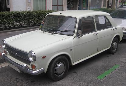 AUTHI Austin 1300 año 1972. Vista Frontal.