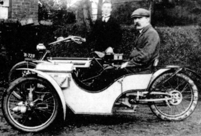 Tricilo Morgan, Año 1909.