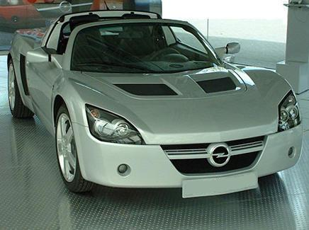 Opel Speedster. Vistra Frontal.