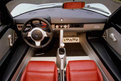 Opel Speedster. Vista Interior.