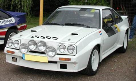 Opel Manta 400. Grupo B.