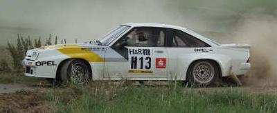 Opel Manta 400. Vista Lateral.