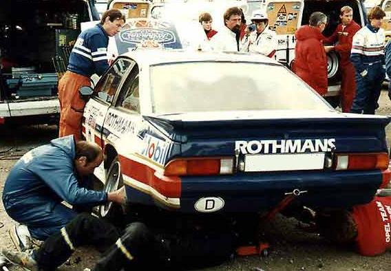 Opel manta 400. Año 1983.
