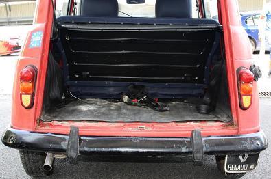 Maletero Renault 4 GTL Clan.
