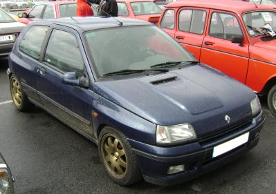 Renault clio Williams. Año 1993