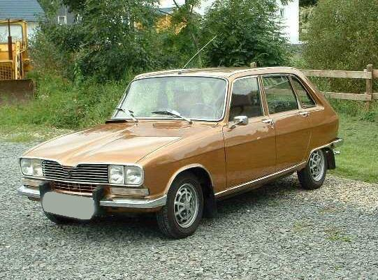 Renault 16, Vista Frontal.