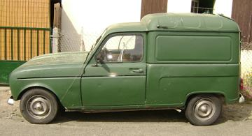 Renault 4F Normal. Vista lateral.