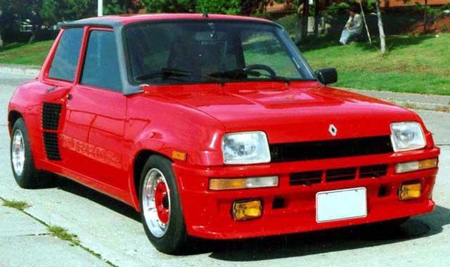 Renault 5 Cevennes, vista frontal.
